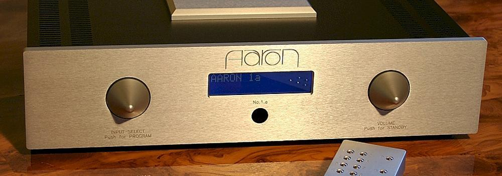 High End Stereo integrated amplifier in aaron silver edition