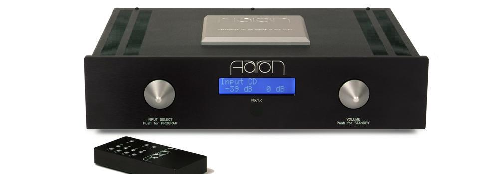 AARON No.1.a  ultimate High End Stereo integrated amplifier in night shadow edition