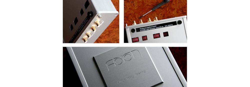 AARON High End Phono Preamplifier. Suitable for every cartridge. MC, MM, MI.