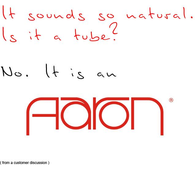 AARON sounds like it should be: natural.
