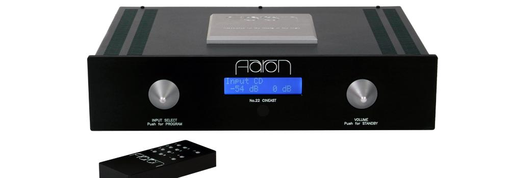 AARON No.22 Cineast. The Preamplifier for Music-lovers and for the cinephiles.
