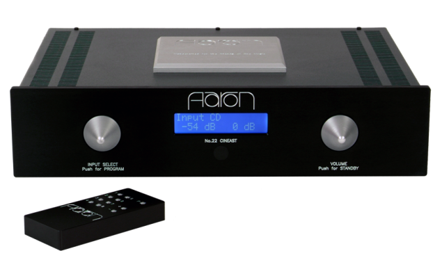AARON No.22 Cineast. The High End preamplifier. Stereo and Multichannel