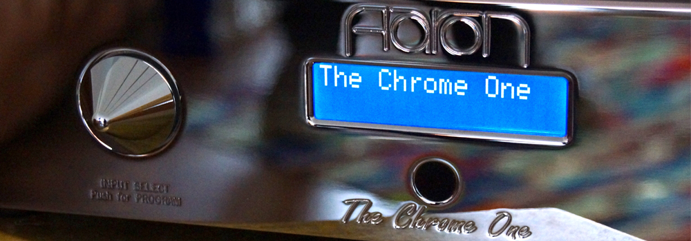 AARON THE CHROME ONE High End Stereo Integrated Amplifier