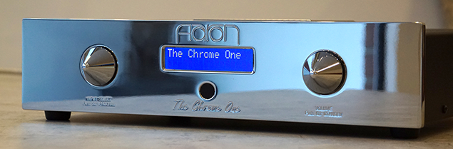 AARON The Chrome One ® High End Stereo integrated amplifier
