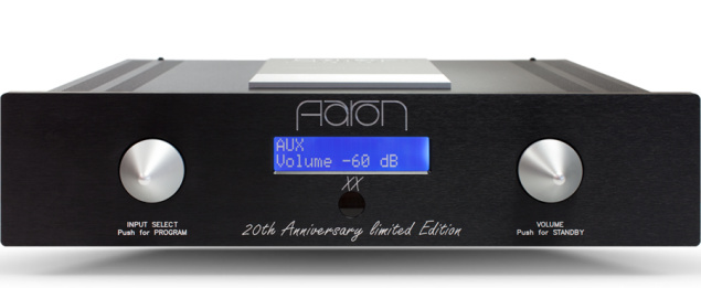 AARON Double X ® High End Stereo integrated amplifier