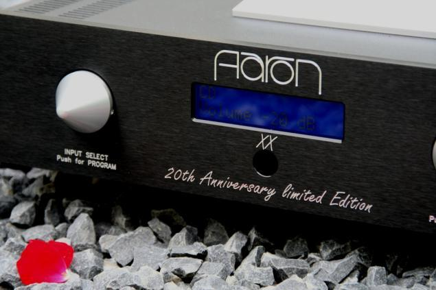 AARON XX ® High End Stereo integrated amplifier