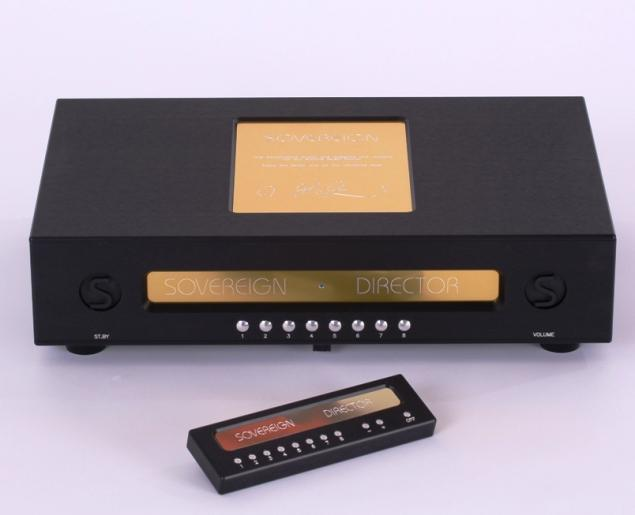 The ultimate High End Preamplifier for the serious music lover. SOVEREIGN DIRECTOR.