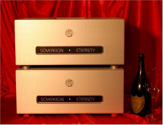 SOVEREIGN ETERNITY, your favorite Music and a Glass of Champagne. What else?